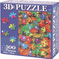 3D-moving-picture jigsaw
