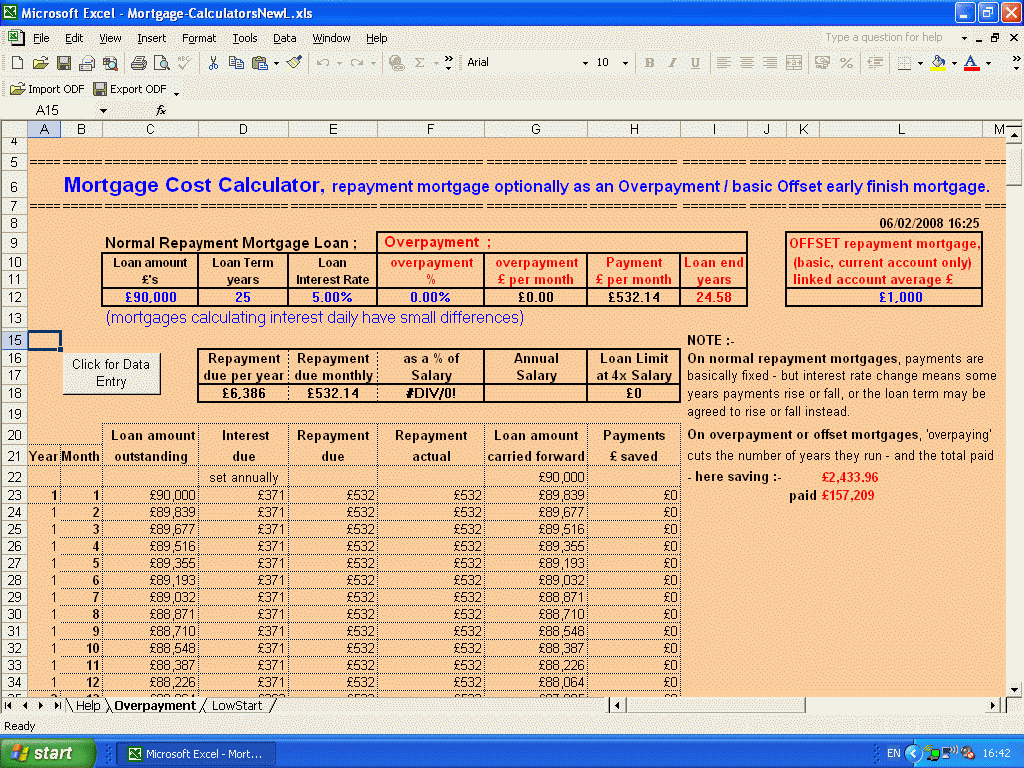 Overpayment Calculator Car Loan