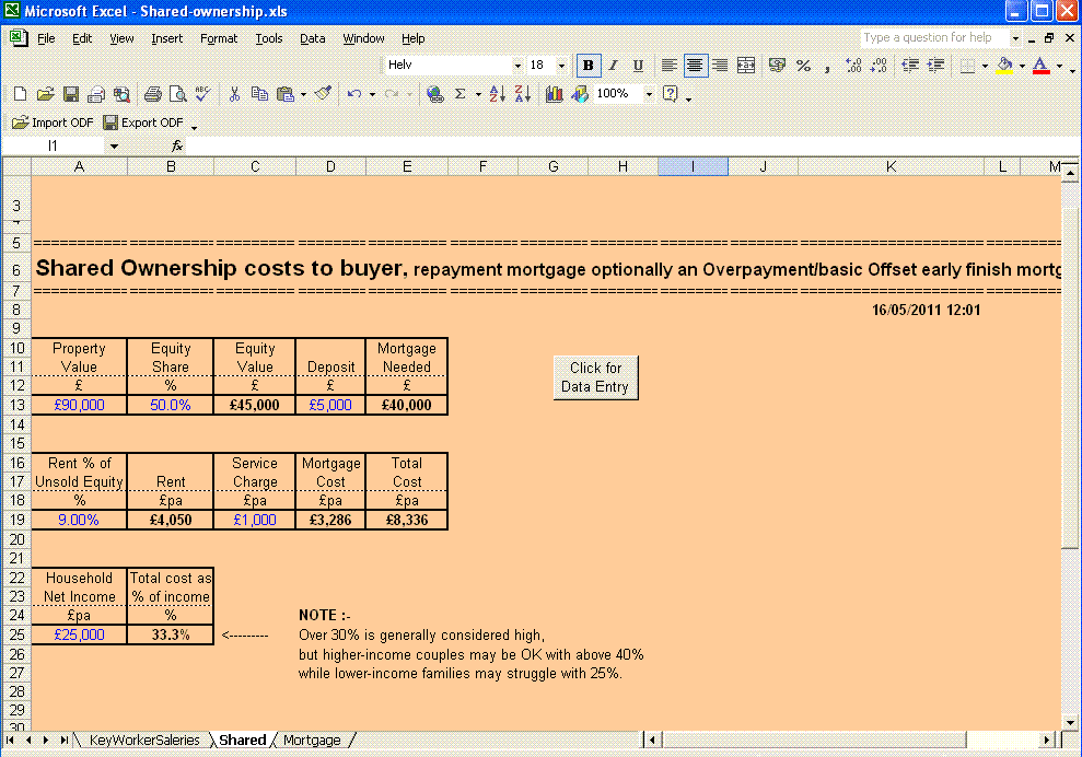 repayment mortgage calculator